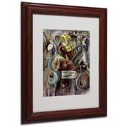"Trademark Fine Art 'Pearl Jam' 11"" x 14"" Wood Frame Art"