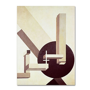 Trademark Fine Art 'Proun 10' 18