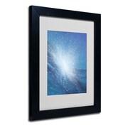 """Trademark Fine Art 'Sea Picture VI' 11"""" x 14"""" Black Frame Art"""