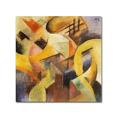 Trademark Fine Art 'Small Composition I' 35