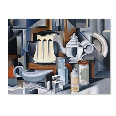 Trademark Fine Art 'Still Life With Teapots' 35