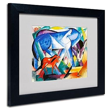 Trademark Fine Art 'The First Animals' 11
