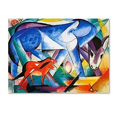 Trademark Fine Art 'The First Animals' 14
