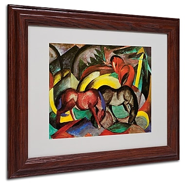 Trademark Fine Art 'Three Horses' 11