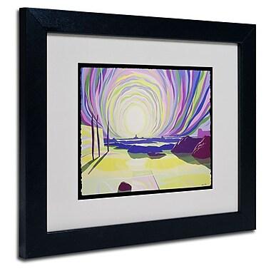Trademark Fine Art 'Whirling Sunrise, La Rocque'