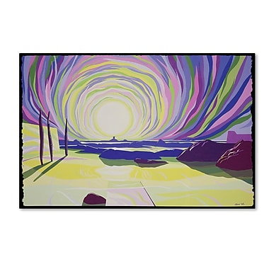 Trademark Fine Art 'Whirling Sunrise, La Rocque' 22