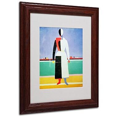 Trademark Fine Art 'Woman With Rake' 11