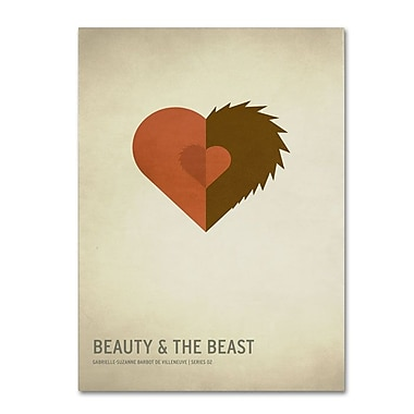 Trademark Fine Art 'Beauty and the Beast' 30