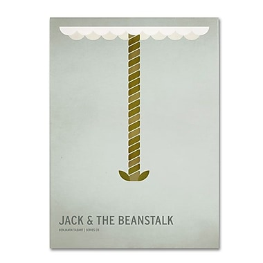 Trademark Fine Art 'Jack and the Beanstalk' 30