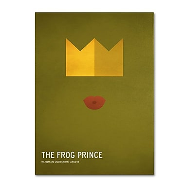 Trademark Fine Art 'The Frog Prince' 30