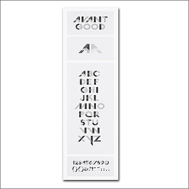 Trademark Fine Art 'Avant Good Font Poster'