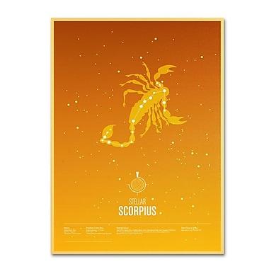 Trademark Fine Art 'Scorpio' 22