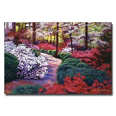 Trademark Fine Art 'April Beauties' 16in. x 24in. Canvas Art