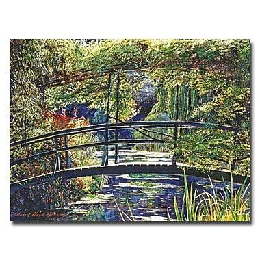 Trademark Fine Art 'Giverny Footbridge'