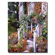 Trademark Fine Art 'A New England Visit' 35in. x 47in. Canvas Art