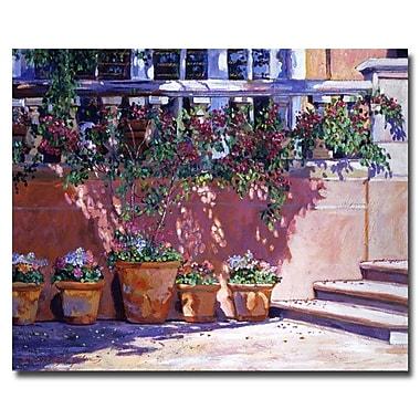 Trademark Fine Art 'Tuscan Plaza'
