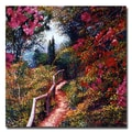 Trademark Fine Art 'Bougainvillea Trail'