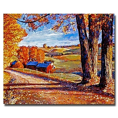 Trademark Fine Art 'Autumn Evening' 26