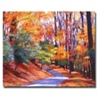 Trademark Fine Art 'Along the Winding Road' 18in. x 24in. Canvas Art