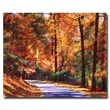 Trademark Fine Art 'Along the Winding Road' 26in. x 32in. Canvas Art