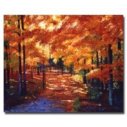 "Trademark Fine Art 'Magical Forest' 18"" x 24"" Canvas Art"