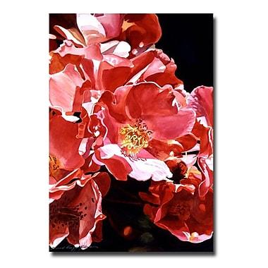 Trademark Fine Art 'Wild Roses' 22