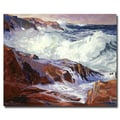 Trademark Fine Art 'Monteray Coast' 26in. x 32in. Canvas Art