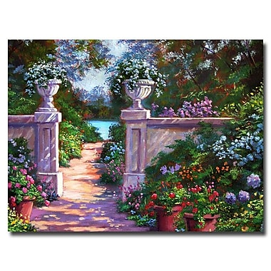 Trademark Fine Art 'Sir Thomas Estate Garden' 35