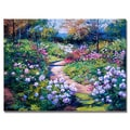 Trademark Fine Art 'Natures Garden' 24in. x 32in. Canvas Art