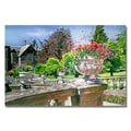 Trademark Fine Art 'Sprin in Hatley Park' 30in. x 47in. Canvas Art