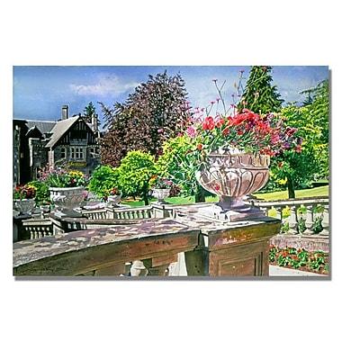 Trademark Fine Art 'Spring in Hatley Park'