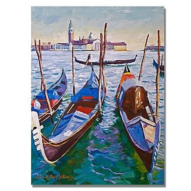 Trademark Fine Art 'Venice Gondolas' 24