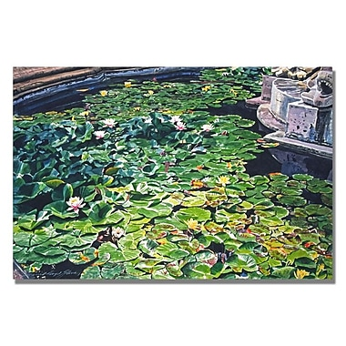 Trademark Fine Art 'Waterlillies Huntington'