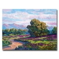 Trademark Fine Art 'Californian Hills' 24in. x 32in. Canvas Art