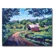 "Trademark Fine Art 'Bridges of East Randolph VT' 26"" x 32"" Canvas Art"