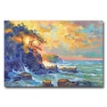 Trademark Fine Art 'Pacific Dawn' 22in. x 32in. Canvas Art