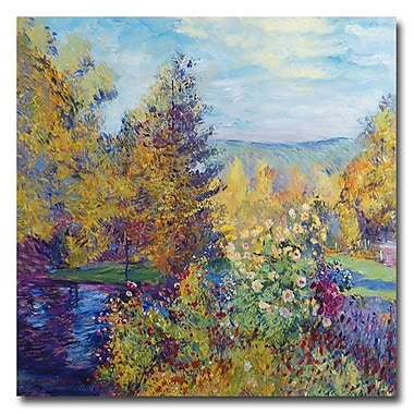 Trademark Fine Art 'Garden at Montgeron'