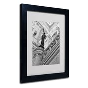 "Trademark Fine Art 'Library of Congress' 11"" x 14"" Black Frame Art"