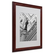 "Trademark Fine Art 'Library of Congress' 16"" x 20"" Wood Frame Art"