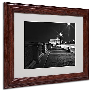Trademark Fine Art 'Lincoln Memorial Bridge' 11
