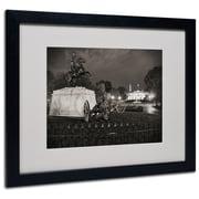 "Trademark Fine Art 'Lafayette Square' 16"" x 20"" Black Frame Art"