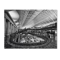 Trademark Fine Art 'Union Station Shops Interior' 18in. x 24in. Canvas Art
