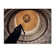 "Trademark Fine Art 'US Capitol Rotunda' 30"" x 47"" Canvas Art"