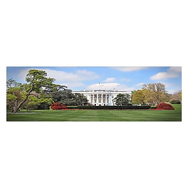 Trademark Fine Art 'White House South Lawn'