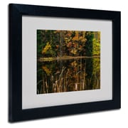 "Trademark Fine Art 'Beautiful Memory' 11"" x 14"" Black Frame Art"