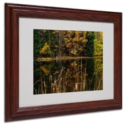 "Trademark Fine Art 'Beautiful Memory' 11"" x 14"" Wood Frame Art"