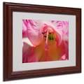 Trademark Fine Art 'Inside a Lily' 11in. x 14in. Wood Frame Art