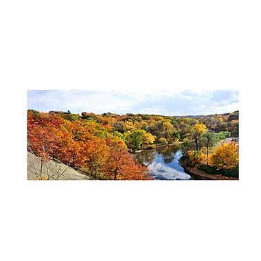 Trademark Fine Art 'Rocky River Autumn' 24