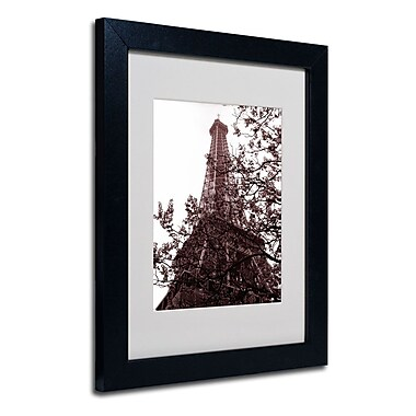 Trademark Fine Art 'Eiffel With Tree'