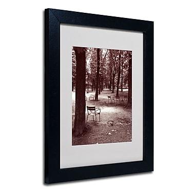 Trademark Fine Art 'Jardin du Luxembourg Chairs'